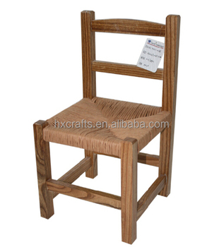 Attrayant Ladderback Rush Woven Seat Rustic Wooden Chairs