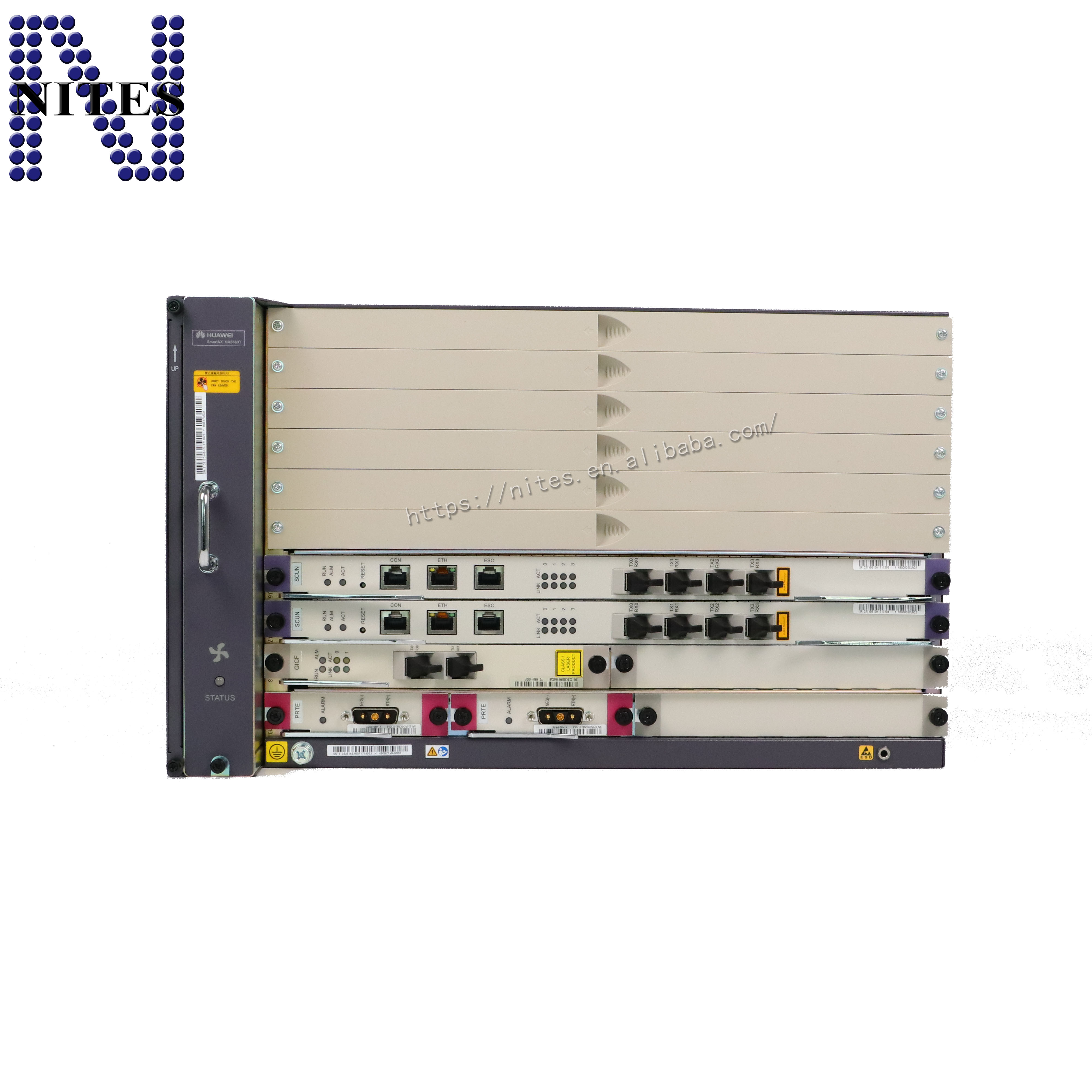 Ma5683t Sfp Modules For Ma5680t Ma5608t Olt Original Hua Wei 16 Ports Gpon Board With 16 Pcs Gpfd Class C
