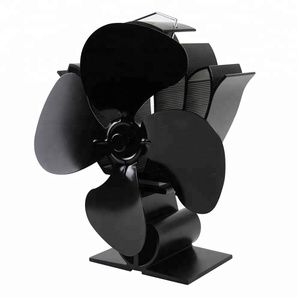 Newmeil ECO friendly best Chinese made 3 or 4 blades heat powered stove fan