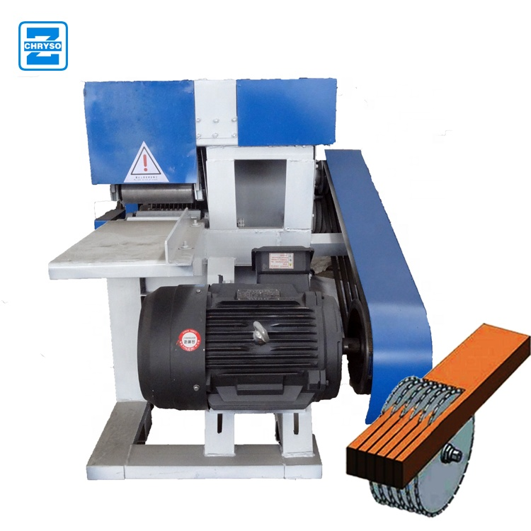 Double end trim saw wood pallet trim saw for sale