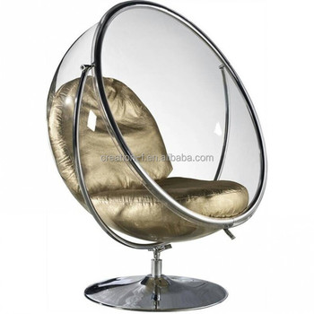 classic clear acrylic hanging bubble chairs