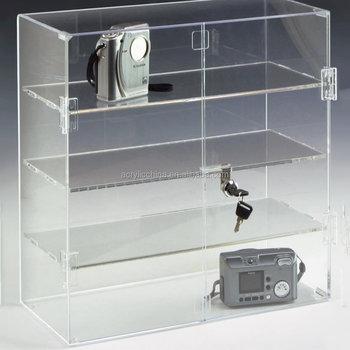 Clear Acrylic Display Cabinet,Plexiglass Showcase - Buy Clear ...