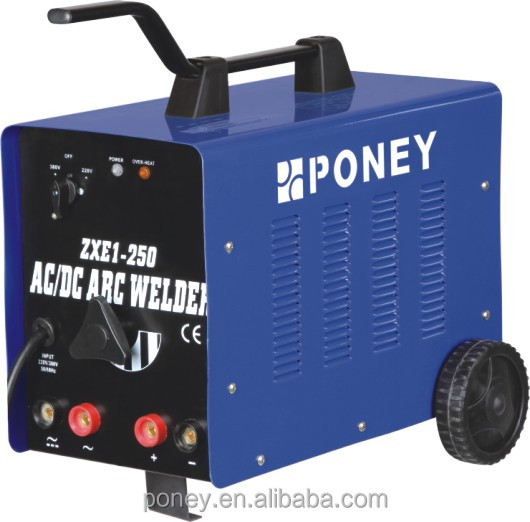 PONEY arc inverter welding machine ZXE1-160/180/200/250 AC/DC