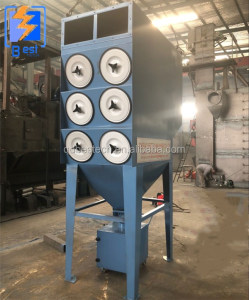Cartridge dust collector/ pulse-jet/modular natural gas filter