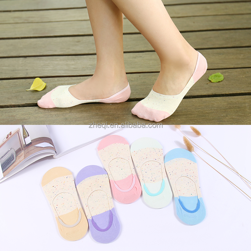 2017 Popular lovely teen girls jacquard sock for sale