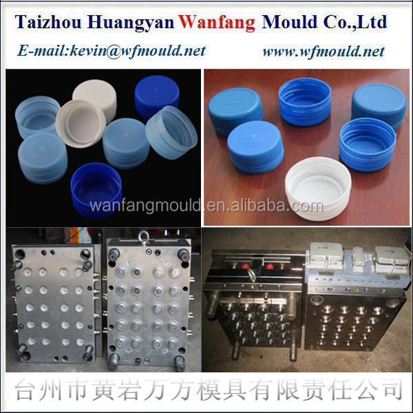 Oem Plastic Thread Bottle Cap Injection Mould China Mold