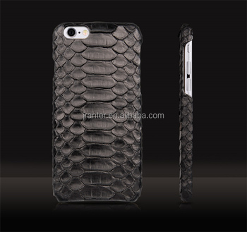 China Jranter 100% Python for Iphone 6 Hard Case Leather Wholesale