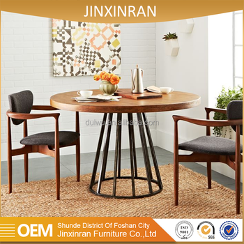 Hot Sale Dining Room Furniture Malaysia 84 Round Solid