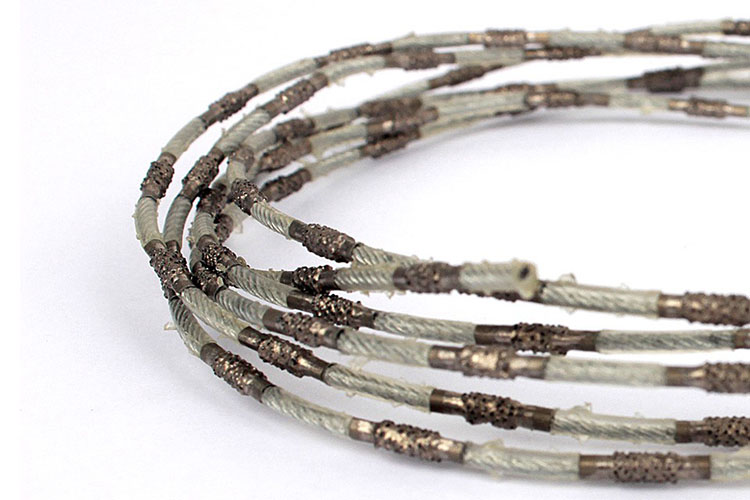 Diamond cutting tool top quality diamond wire saw rope for granite marble quarry concrete cutting