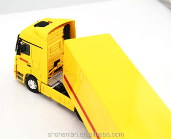 Mini Scale 1:50 Dhl Cargo Container Truck Die Cast Toy - Buy 1:50 Diecast  Trucks,Extended Cab Mini Truck,Scale Truck Model 1:10 Product on Alibaba com