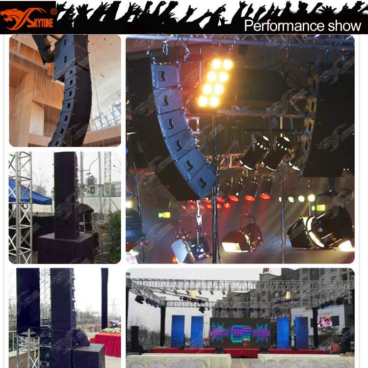 China Suppliers Vera Line Array 8 Ohm Dj Speakers For Party