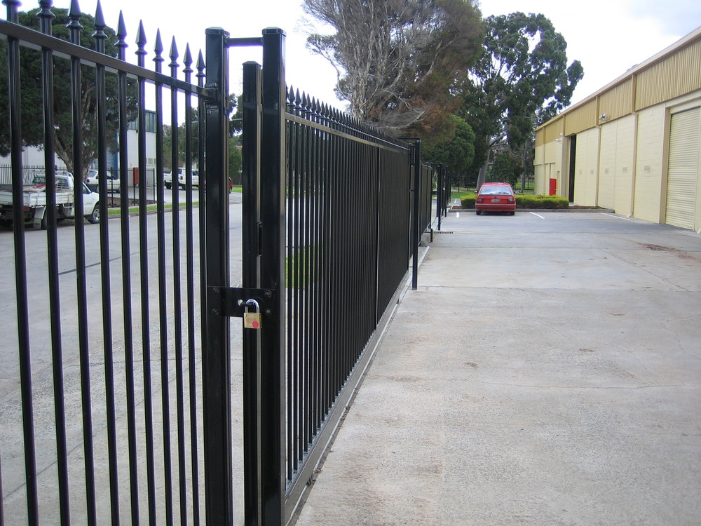 Galvanized Steel Fence Panels Metal Fence Panels