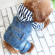Hot pet clothes cowboy shirt dog clothing pet dog clothes
