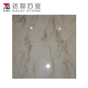 Cheap Italian porcelain tile with marble vein design