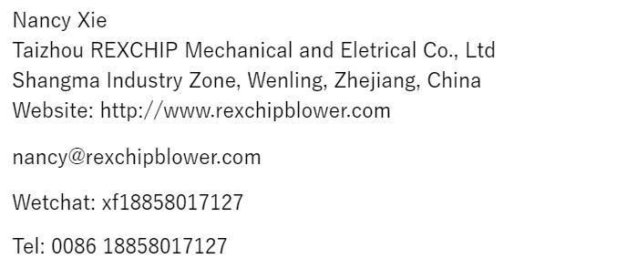 2.2KW En kaliteli büyük hava akımı ring blower endüstriyel elektrikli süpürge