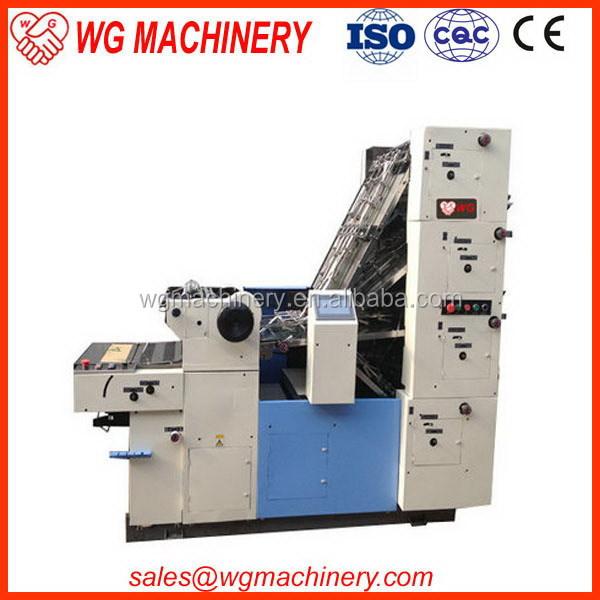 Modern New Magazine Printing Press Machine