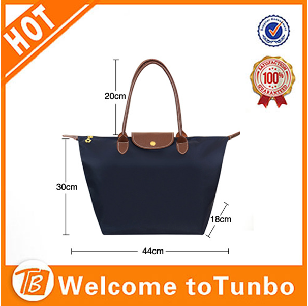 China wholesale trendy waterproof nylon foldable beach bag
