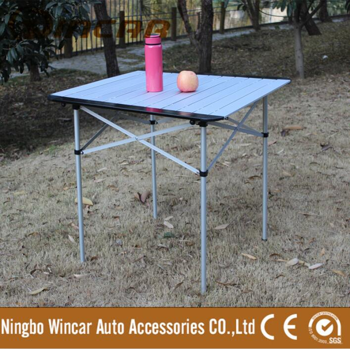 Aluminum folding camping table Outdoor camping picnic portable table