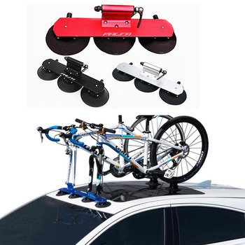 CSC Auminum Suction Cup Roof-Top Rear Bike Rack Car Roof Bicycle Rack for one Bike use