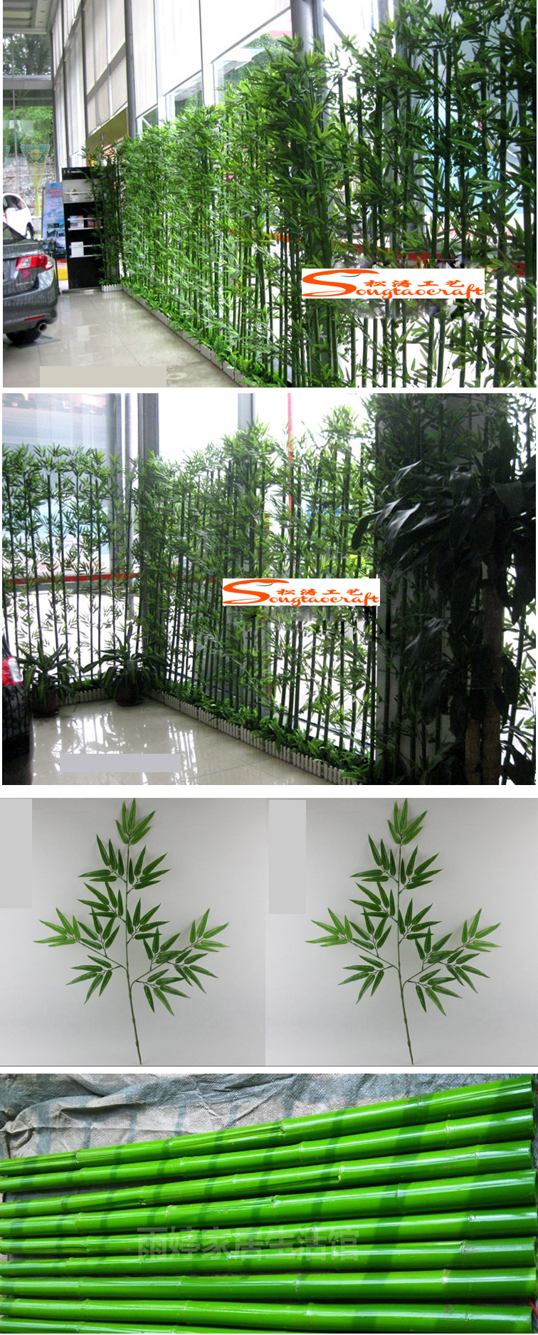 indoor/outdoor hotel lobby decoration bamboo plant stand bamboo