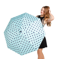 Sun umbrella with case for women