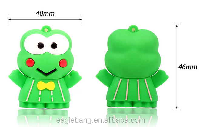 Frog Usb Flash Drive Frog Design Usb 4gb 8gb 16gb Flash Pen Drive ...