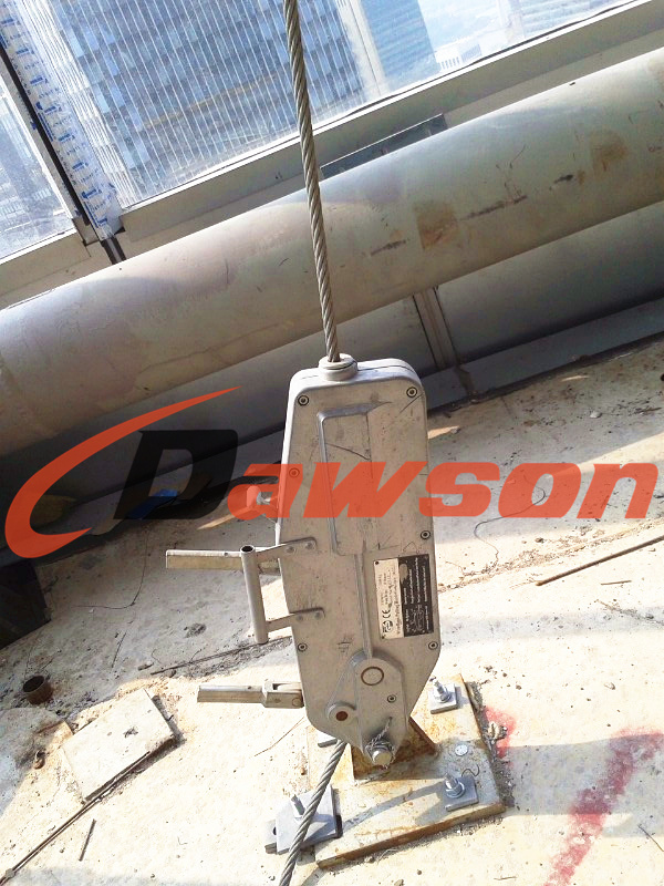 Manual Tirfor Wire Rope Winch / Manual Cable Puller / Wire Rope ...