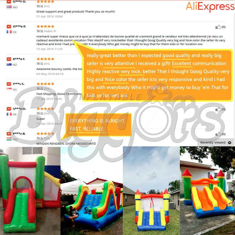 YARD Residenziale Gonfiabile Salto Casa Gonfiabile Castello Per I Bambini