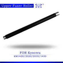quality products copier parts teflon roller compatible for kyocera km1620 2020 2035 1650 2050 upper fuser roller