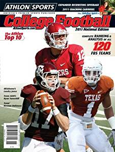 Athlon Sports 2011 College Football National Preview Magazine- Oklahoma Sooners Cover