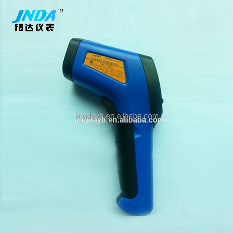 Gun type infrared temperature meter laser high temperature meter