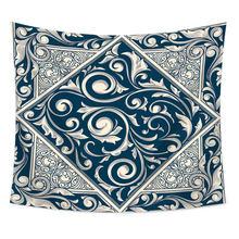 Мозаичный узор богемный настенный гобелен Serape МАНДАЛА ГОБЕЛЕН, ковер, домашний декор, Космический цветочный пляжный коврик(Китай)