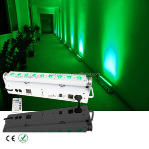 Outdoor decoration lighting color changing 18w Remote Control DMX LED Wall Washer Uplights
