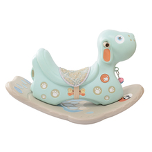 New indoor animal ride for mall plastic rocking horse for kids on sale