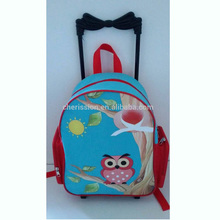 Kids trolley trendy school bag