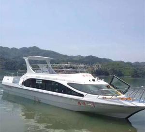50seats Fiberglass Fast Passenger Boat/ Fast Ferry Boat for sale