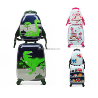 Wholesale Cute kid rolling travel luggage,children travel trolley luggage,cheap kids luggage GL001