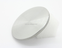 Iridium sputtering target Ir 2-3mm thickness 99.95