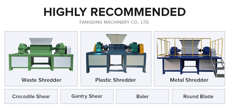 Aangepaste grootte 1-10 t/h Capaciteit granulator machine hout shredders op verkoop