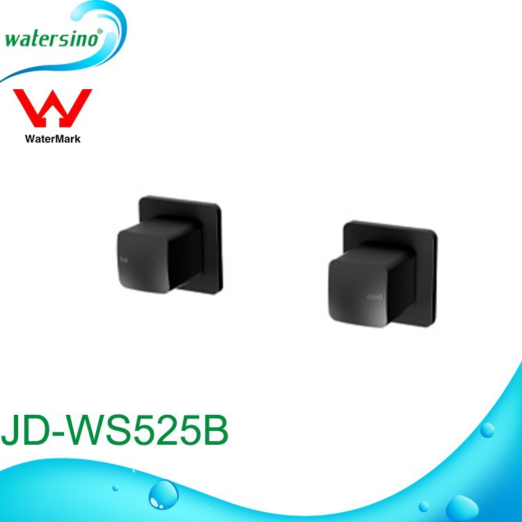 Guangzhou watermark black plated faucet switch JD-WS525B