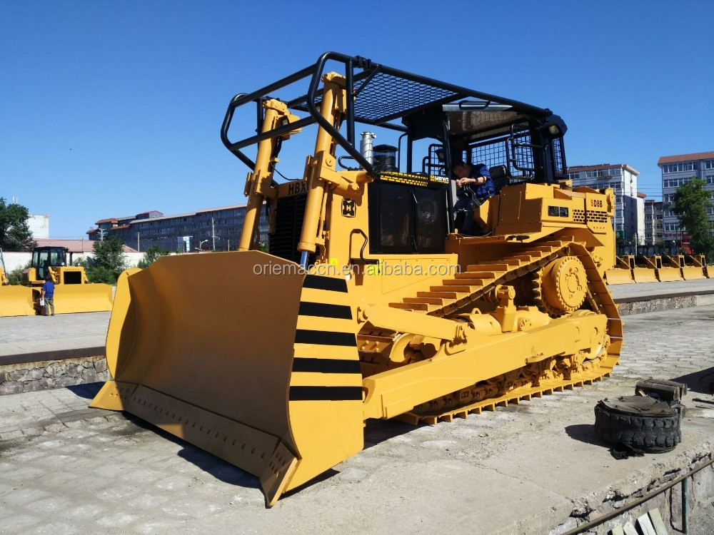 Brand New 80HP Shantui Mini Bulldozer SD08-3 per la Vendita