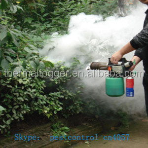CE certification Top sale to india China mosquito butane gas mini thermal fogger with butane gas for power