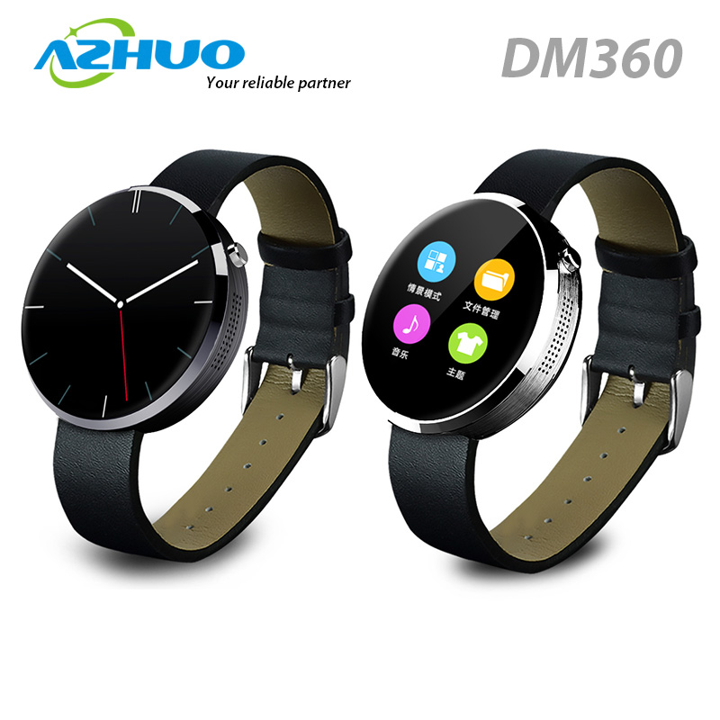 High Quality Bluetooth Smart Watch Round Heart Rate Monitor Smart Watch DM360