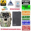 Blueskysea SG 880V Hunting Camera 1080P 12MP 940NM Night Vision Infrared IR Trail Scouting Camera 32GB