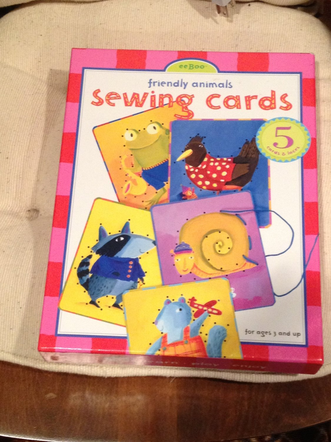 Sewing Cards - Friendly Animals