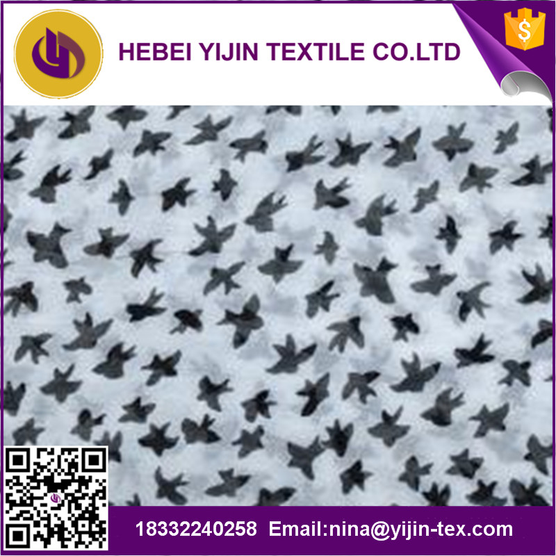 Voile printed Fabric for Scarf
