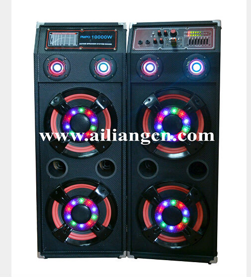 2.0 speaker with dancing water screen USBFM-K20G/AILIANG SPEAKER