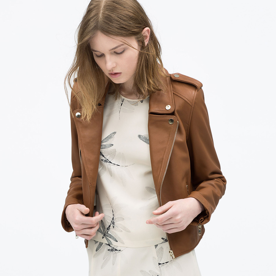 Cheap Brown Leather Coat Women, find Brown Leather Coat Women ...