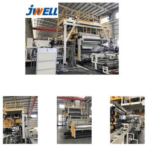 JWELL - pvc flex banner production line/making machine/extruder