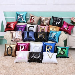 40cmX40cm Mermaid Pillow Case, Play Tailor Magic Reversible Sequin Pillow Cover Throw Cushion Case